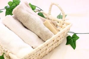 静電気対策は綿製品