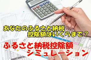 ふるさと納税シミュレーション画像