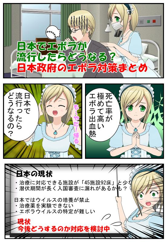 日本のエボラ感染対策を漫画で解説_001