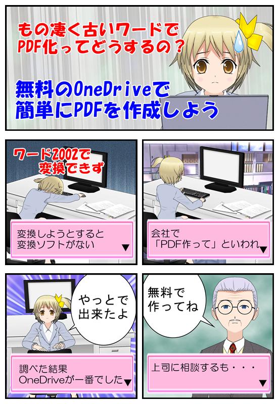OneDriveを使用した経緯を漫画で説明_001
