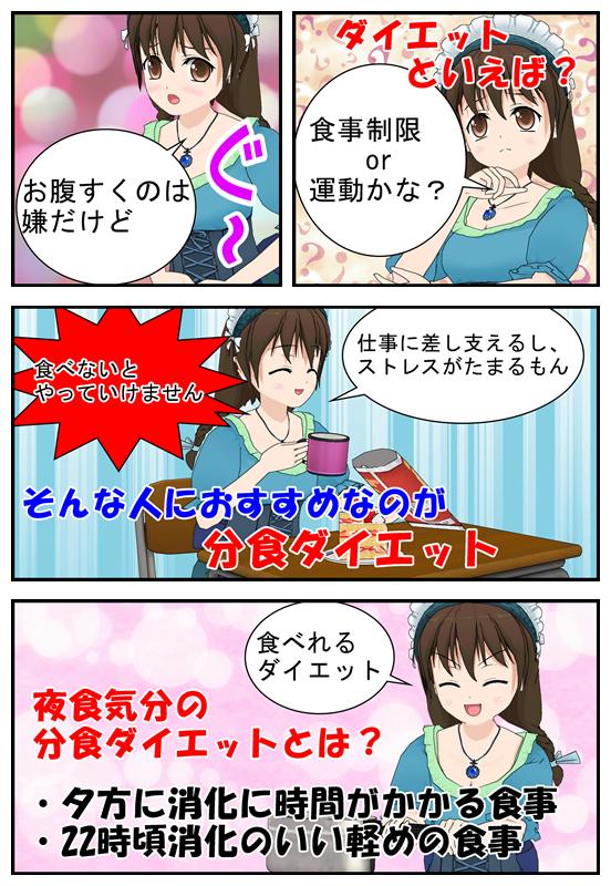 分食ダイエットを漫画で説明_002