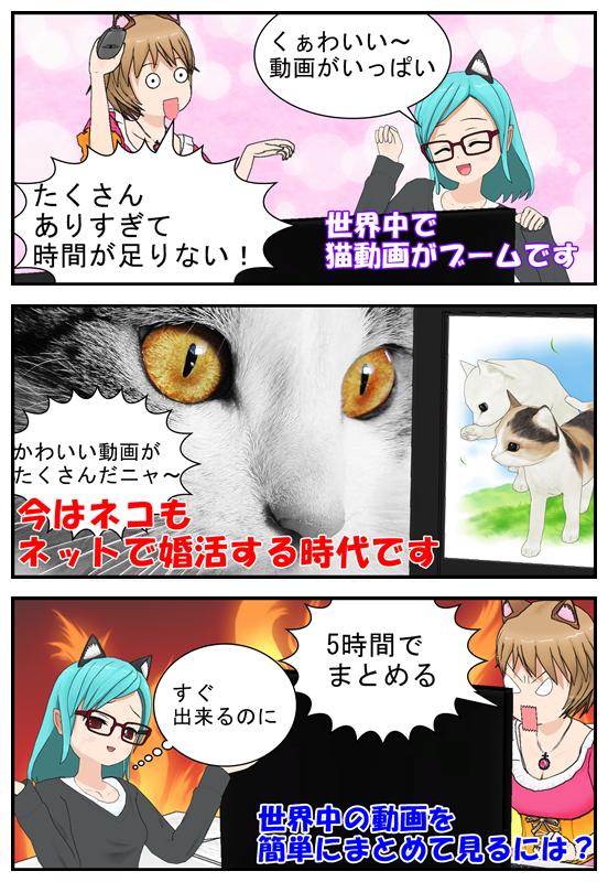 youtubeでは猫の動画が人気_001