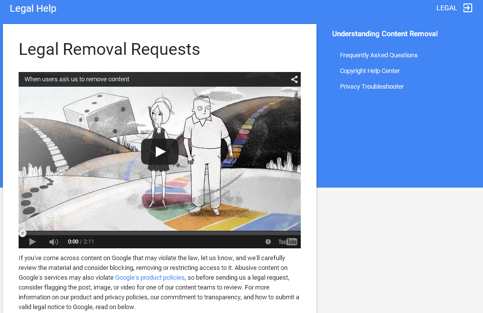 google-Legal-Removal-Requests