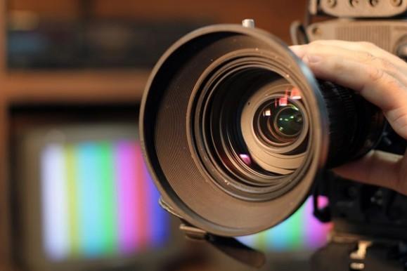 テレビ撮影