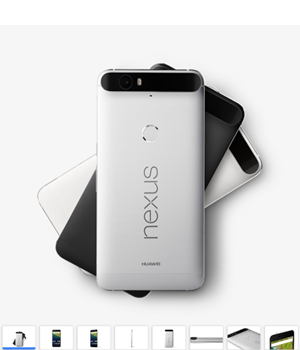 画像:Google ストア - Nexus6P https://store.google.com/product/nexus_6p