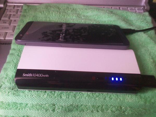 Smith 10400mAh使用感テスト