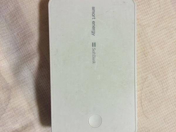 Aさん(仮名)が使っている「smart energy box 6200」(ソフトバンクセレクション)6480円で購入したそうです。