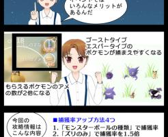 ポケモンGOのハロウィンイベント詳細を漫画で説明