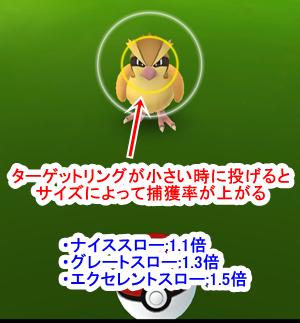 throwbonusの種類と方法pokemongo