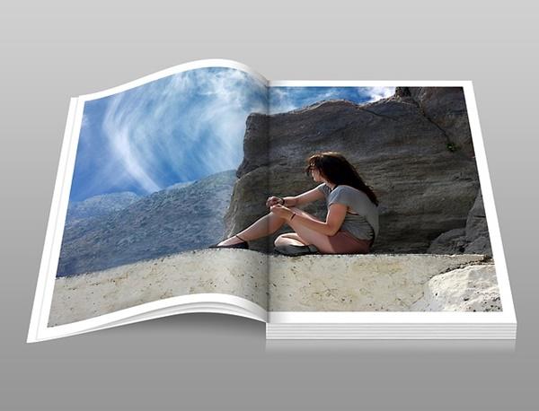 フォトブックのサンプルイメージ